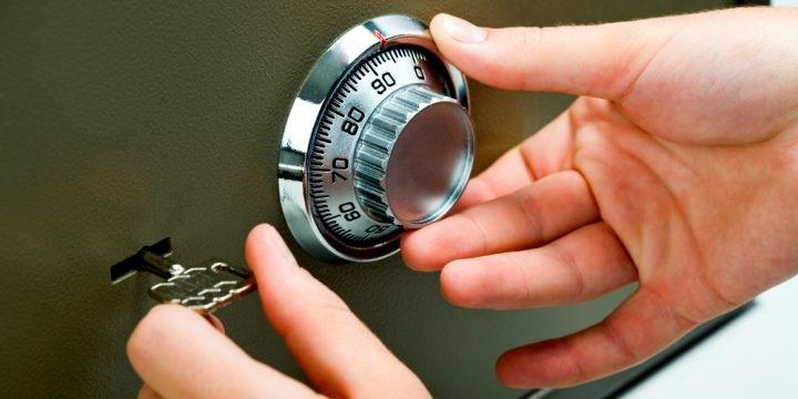 forgotten pass code of safe vault repair how to open lost password