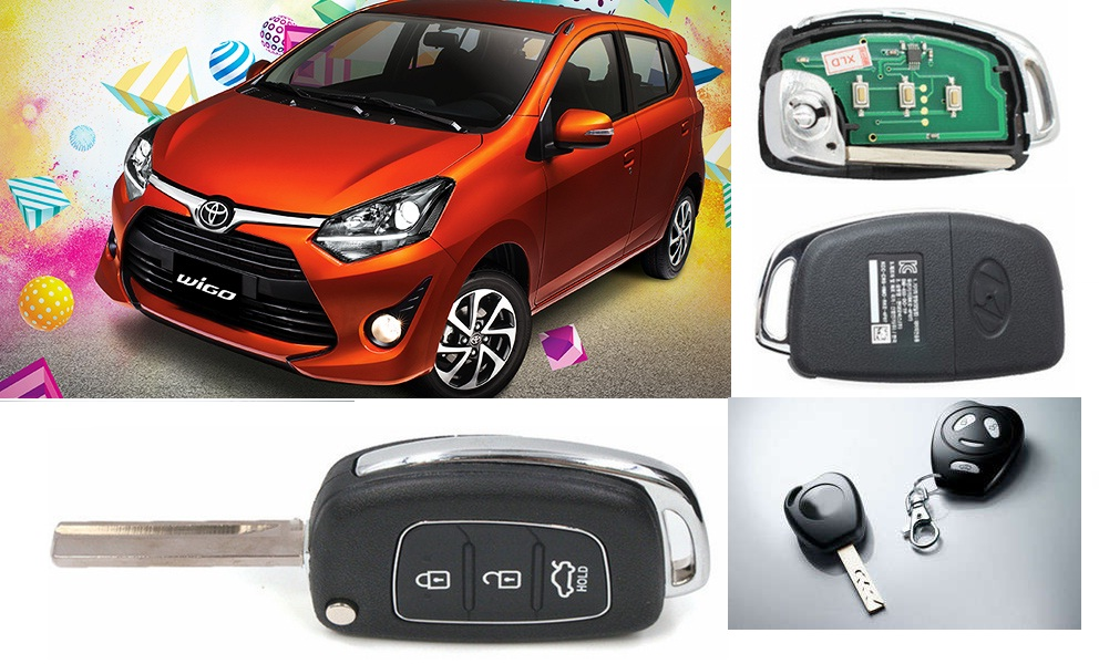 toyota wigo remote car keys duplication transponder immobilizer duplication shop